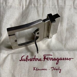 Salvatore Ferragamo rectangular belt buckle